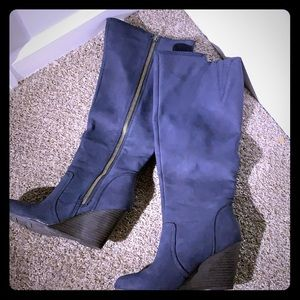 Fergie Wedge Boots